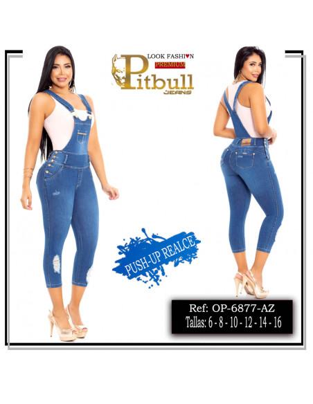 overol pitbull azul op6877